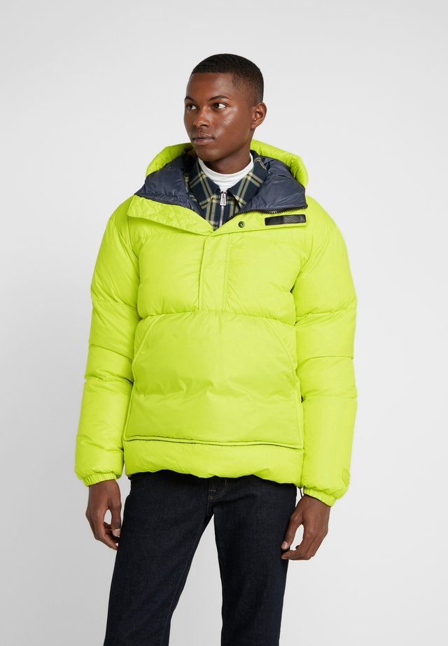 DELSEAN - Down jacket - lime yuzu