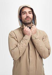Mammut - TROVAT - Hardshell jacket - brown - 7