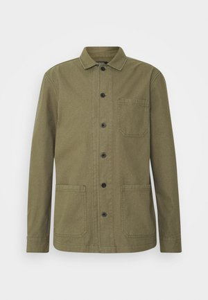 LONG SLEEVE POCKET - Košile - khaki