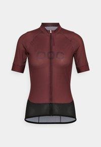 ESSENTIAL ROAD LOGO - Cycling Jersey - propylene red/dark propylene red