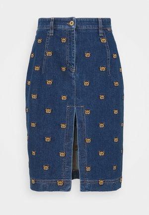 SKIRT - Denim skirt - blue denim