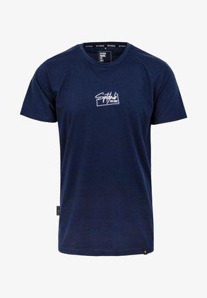 DENNIS - T-shirt basic - blau