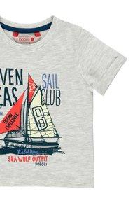 Boboli - Print T-shirt - grey - 2