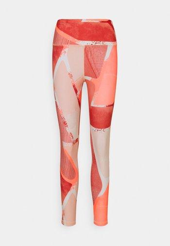 LUX  - Leggings - orange flare