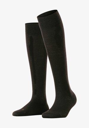 SENSITIVE BERLIN - Knee high socks - black