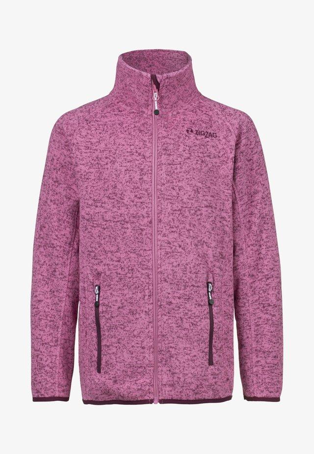 Fleece jacket - light pink