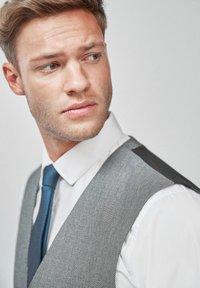 Next - TEXTURED - Suit waistcoat - grey - 2