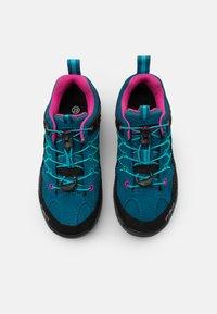 CMP - KIDS RIGEL LOW TREKKING SHOES WP - Hiking shoes - deep lake/baltic - 3