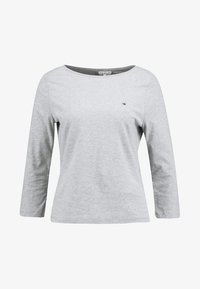 Tommy Hilfiger - NEW TILLY BOAT TEE - Long sleeved top - grey - 4