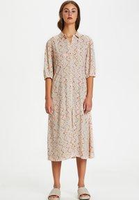 Soaked in Luxury - Shirt dress - whisper white splash print - 1
