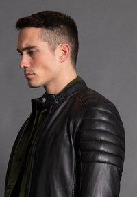 Tigha - ASHTON - Leather jacket - black - 3