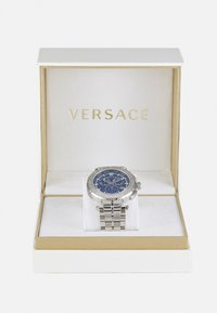 Versace Watches - GRECA - Chronograph watch - silver-coloured/blue - 5