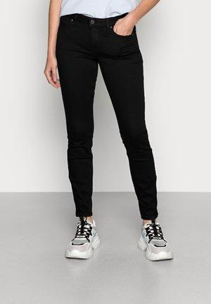 SCARLETT CROPPED - Jeansy Skinny Fit - black rinse