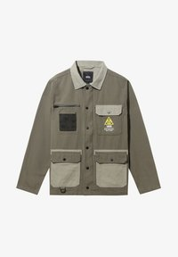 Vans - MN DRILL CHORE COAT MILITARY - Short coat - grape leaf-vetiver - 3
