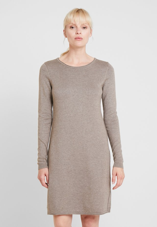 Jumper dress - taupe