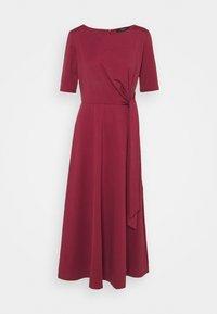 GERANIO - Jersey dress - bordeaux