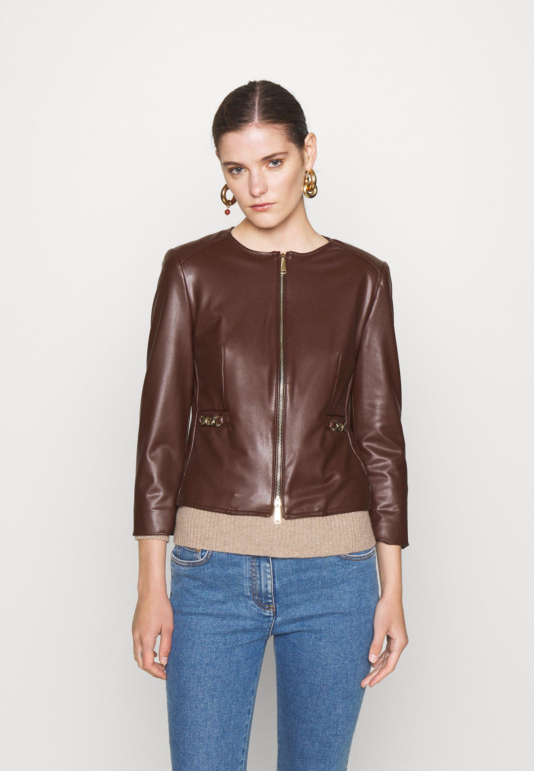 Women OZIO - Faux leather jacket