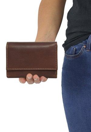 Plånbok - dark brown