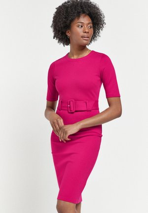 PONTE BODYCON DRESS - Robe fourreau - pink