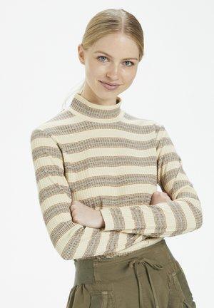 Jumper - brown stripes