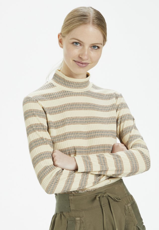 Maglione - brown stripes