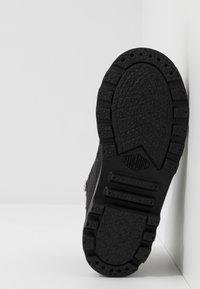 Palladium - PAMPA - Lace-up ankle boots - black - 5