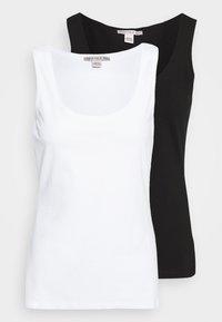 Anna Field Petite - 2 PACK - Top - white/black - 0