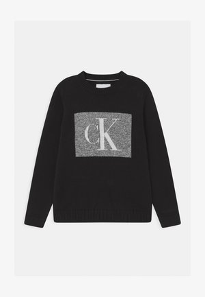MONOGRAM BOX - Jumper - black