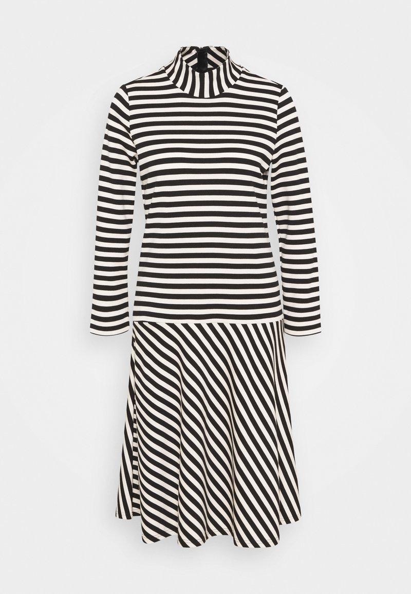 InWear - HUBERTIW DRESS - Day dress - black / french nougat