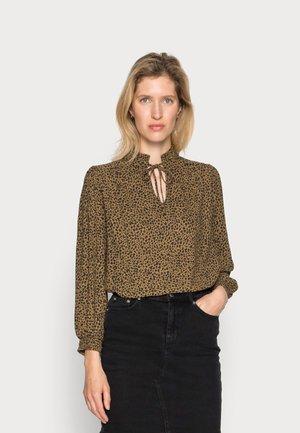 JENNA LEOPARD BLOUSE - Bluser - leopard