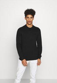 Emporio Armani - MAGLIERIA - Sweter - black - 0