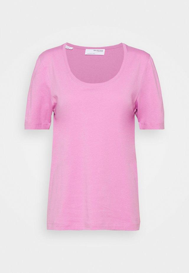SLFSTANDARD TEE - T-shirt basic - opera mauve