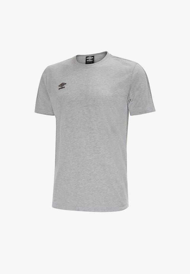 Basic T-shirt - graugrau