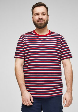 T-shirt print - red stripes