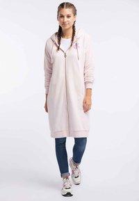 myMo - Zip-up hoodie - rosa melange - 1