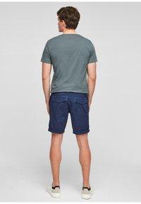 s.Oliver - BERMUDES - Shorts - blue - 2