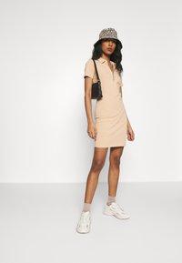 ONLY - ONLEMMA DRESS - Jersey dress - ginger root - 1