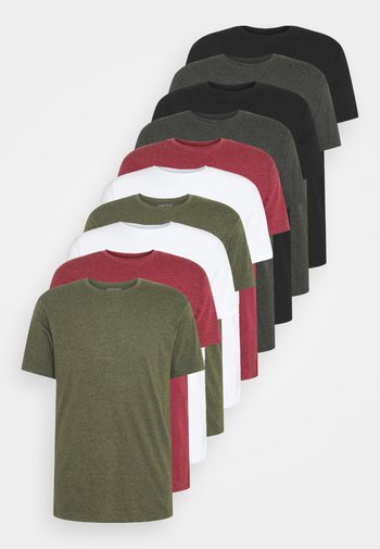 10 PACK  - T-shirt - bas - white