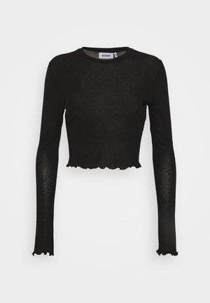 SENA LONG SLEEVE - Long sleeved top - black