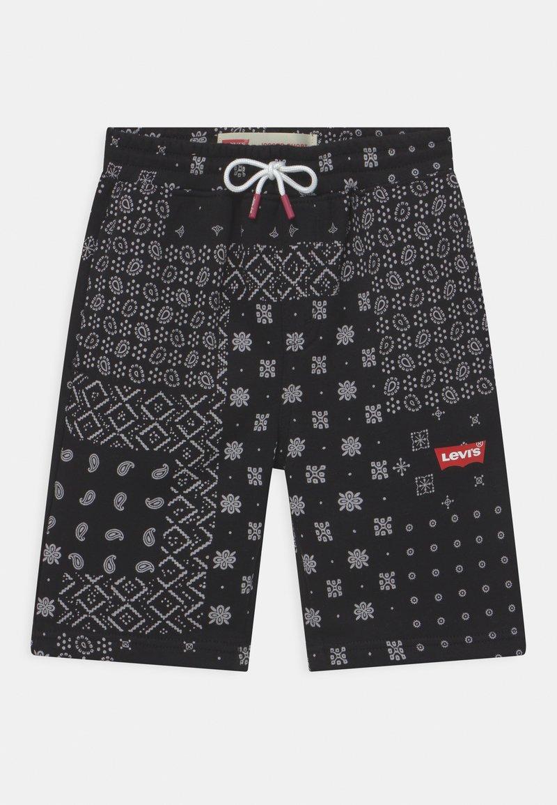 Levi's® - LOGO - Shorts - black/white