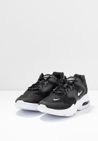 Nike Sportswear - AIR MAX 2X - Sneakers laag - black/white - 3
