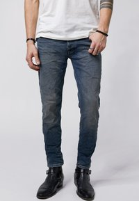 Tigha - MORTY - Slim fit jeans - vintage mid blue - 0