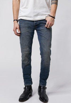 MORTY - Slim fit jeans - vintage mid blue