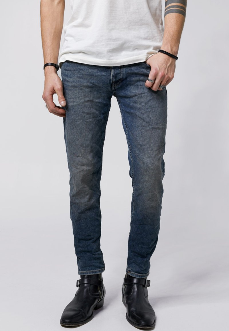 Tigha - MORTY - Slim fit jeans - vintage mid blue