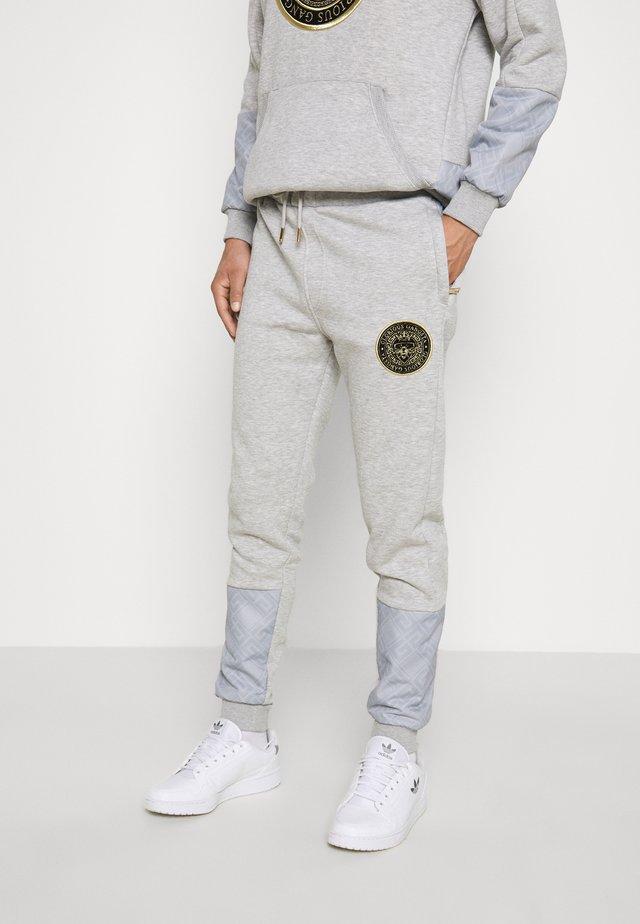 IRVAS JOGGER - Teplákové kalhoty - grey marl