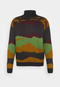 Another Influence - ROLL NECK SCENIC JUMPER - Trui - charcoal - 4