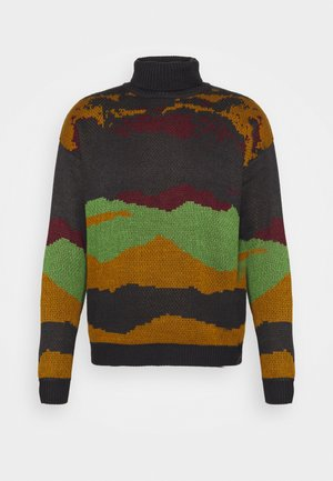 ROLL NECK SCENIC JUMPER - Pullover - charcoal