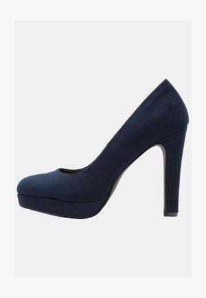 Lodičky na vysokém podpatku - dark blue