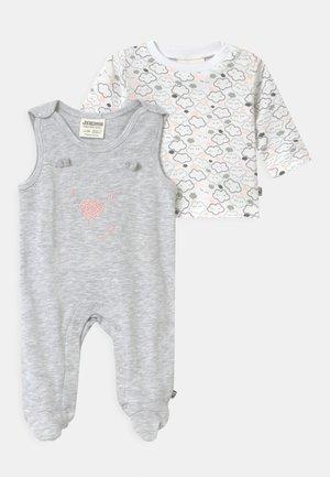 WELCOME UNISEX - Pyjama - grey/white