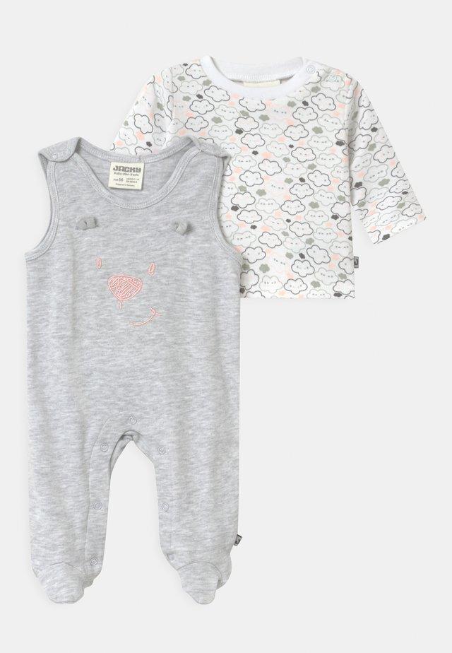 WELCOME UNISEX - Pyžamová sada - grey/white